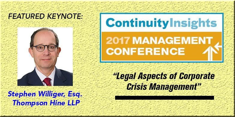 2017 stephen willinger Legal Aspects of Corporate Crisis Management